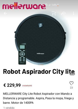 Nuevo Robot Aspirador