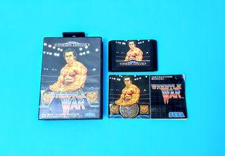 Wrestle War (con desperfectos) / Mega Drive