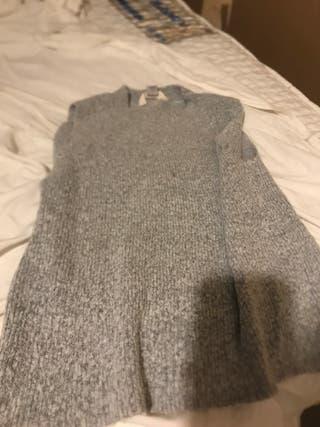 River island gray conftible top