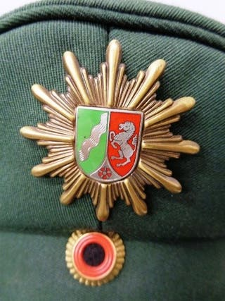 Insignia de Gorra Policía Alemana d Renania 1950's