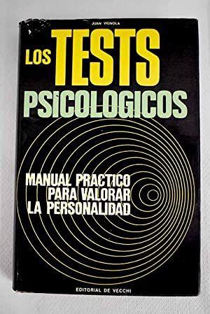 Los tests psicológicos, libro