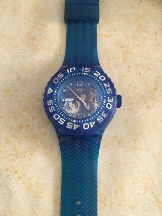Reloj swatch azul