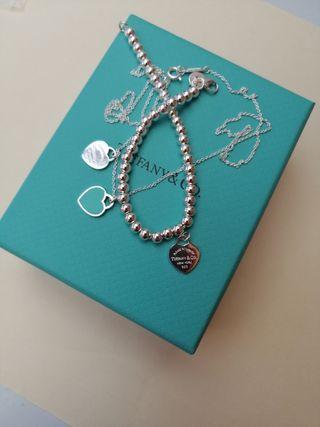 collar y pulsera Tiffany