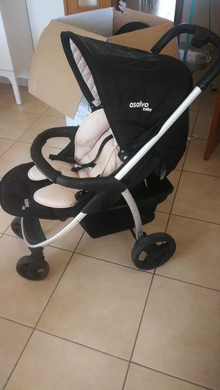 carro de tres piezas ASALVO baby