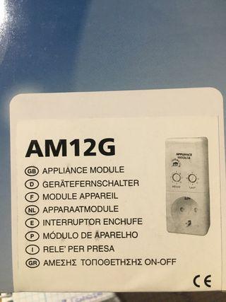 Interruptor enchufe conmutacion AM12G
