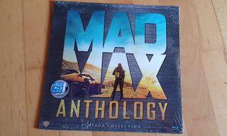 Mad Max Antología. Edicion especial vinilo. Bluray