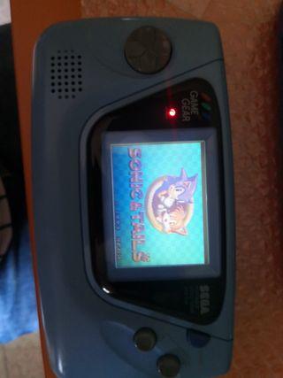 Sega game gear azul japonesa