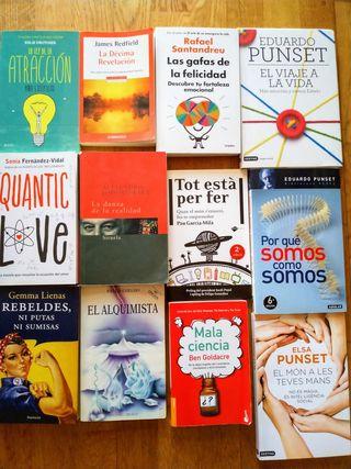 Lote o pack de libros de humor, física cuántica, n