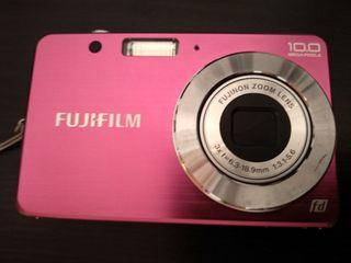 Cámara Digital Fujifilm Finepix J20 10Mp Rosa
