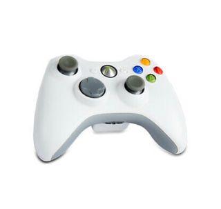 Mando Xbox 360 inalámbrico blanco