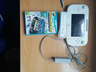 2 mandos de la WI U, cargador y juego originales
