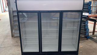 Mural frigorifico supermercado