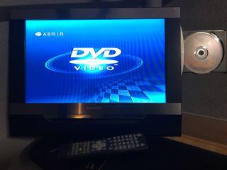 Tele pequeña DMTECH con DVD incorporado