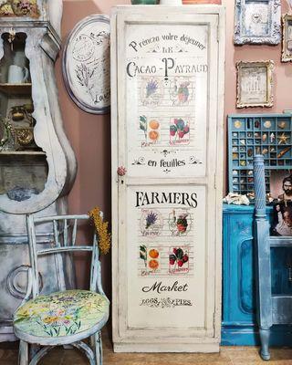 "alacena rústica antigua blanca "" Aix en Provence"""