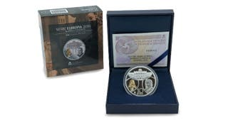10 euros plata proof 2018 serie barroco