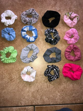 Homemade Hair Scrunchies