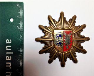 Insignia Gorra Policía Alemana de Holstein 1950's