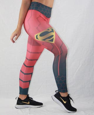 Leggin PUSH UP malla talla S superman