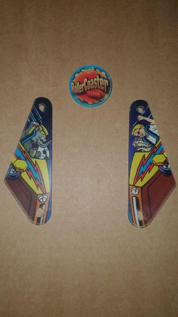 Plásticos pinball roller coaster