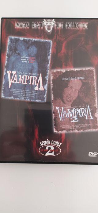 tres películas de terror.bad taste.vampira