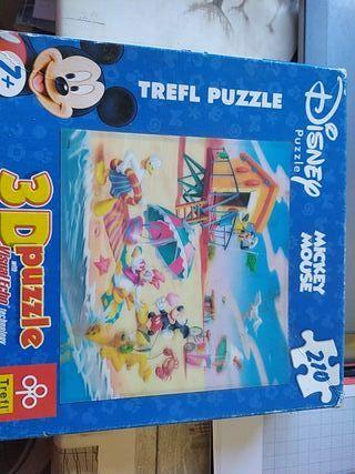 Puzzle 3D Disney.