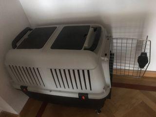 Transportin homologado para perros + ruedas
