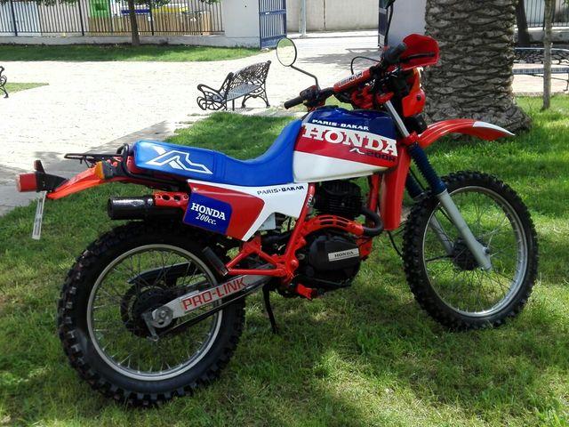 HONDA PARÍS DAKAR XL