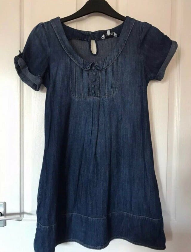 Denim babydoll dress Size M