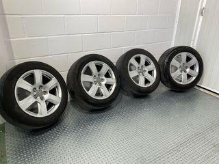 Llantas Audi de 17 pulgadas