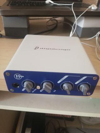 tarjeta de sonido interfaz de audio Mbox2 Mini