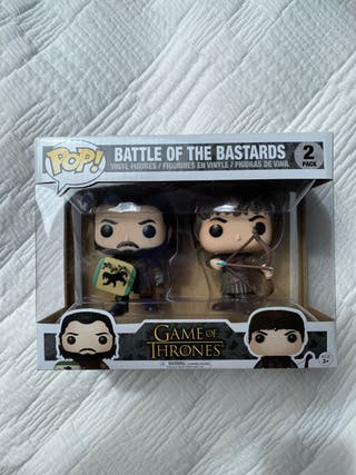 Funko Battle of the bastards BATALLA DE BASTARDOS
