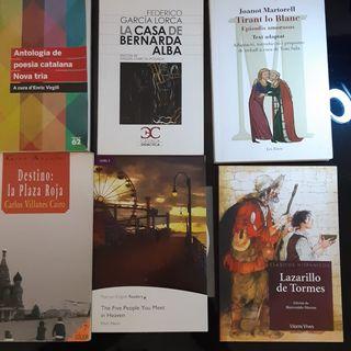 Libros Literatura Bachillerato