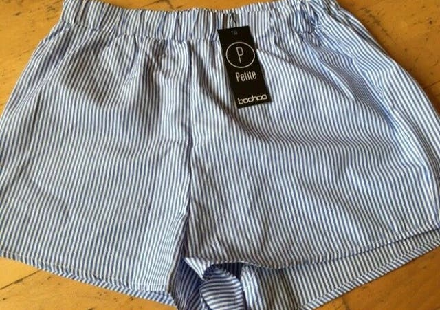Stripped shorts Size 12