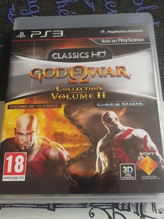 god of war collection volumen 2 ps3
