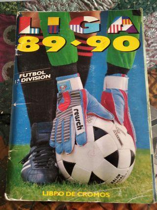 Album Liga 1989-1990