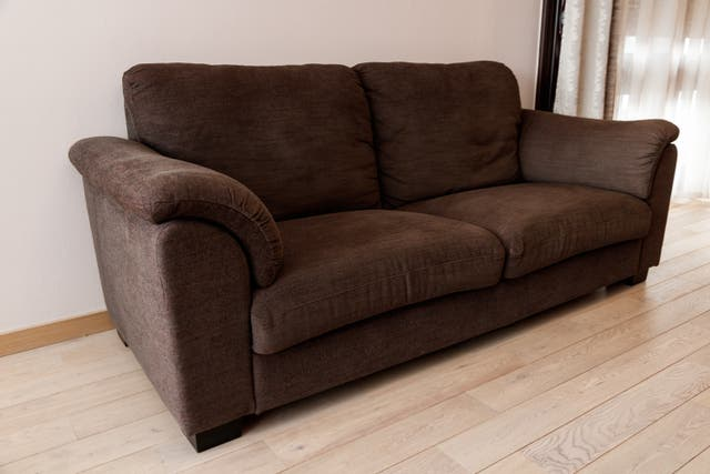 Canapé 3 places en tissu