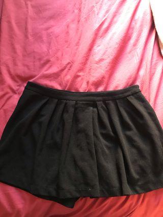 Black skort Size 12