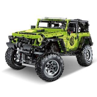 Jeep Wrangler Rubicon 2342 Piezas