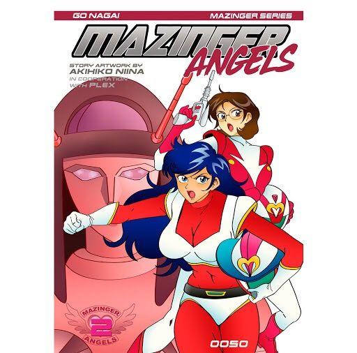 LOTE MAZINGER ANGELS COMPLETO + FIGURA DE REGALO