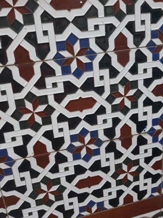 Azulejos Sevillano. MENSAQUE