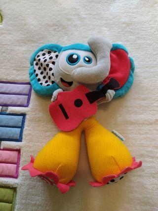 Elefante peluche musical Babymoov