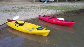 kayak de mar i aigües tranquiles