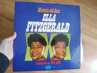vinilo: jazz, Ella, Fitzgerald 1974