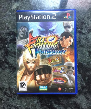 ART OF FIGHTING ANTHOLOGY PS2 COMPLETO