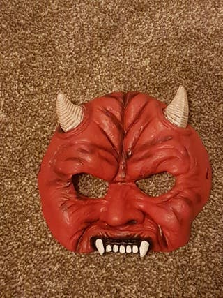 Halloween Devil Costume Mask