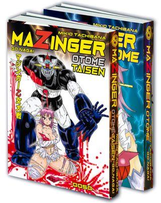 LOTE MAZINGER OTOME + TAISEN (CASTELLANO)