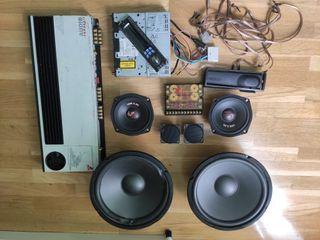 Equipo completo de audio car