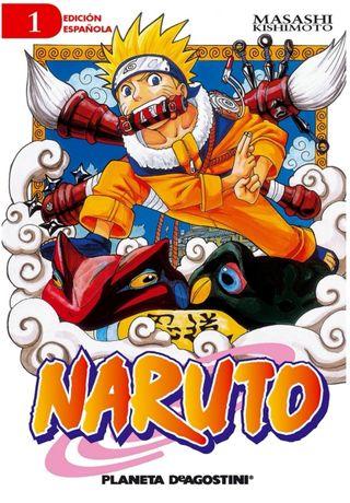 Mangas Naruto - Tomos del 1 al 10