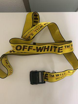 Cinturón Off White largo