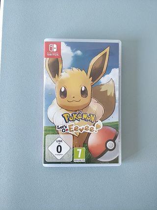 Pokemon Let's Go Eevee! Nintendo Switch